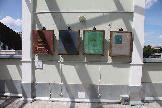 Инсталляция «Фабричная подделка Марка Ротко»